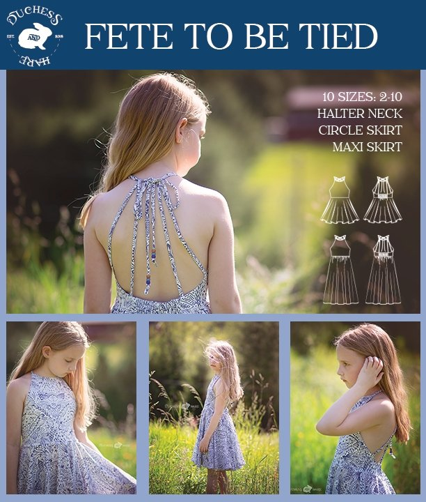 10 sizes: Fete to be Tied Dress and Maxi