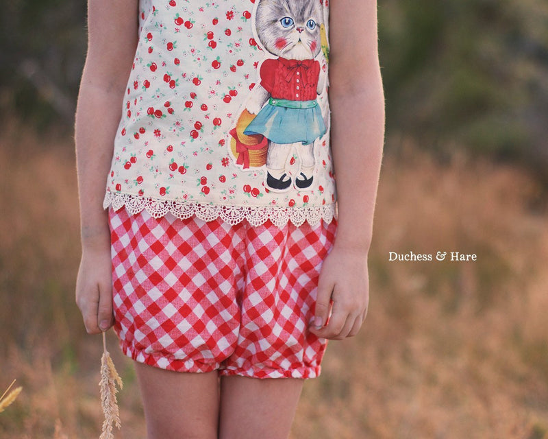 Free at Last! Top and Shorts - Duchess & Hare