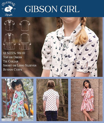 Gibson Girl Blouse and Dress - Duchess & Hare