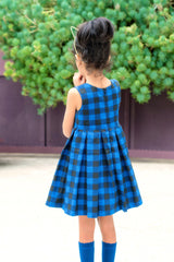 Honeybunch Pleated Dress - Duchess & Hare