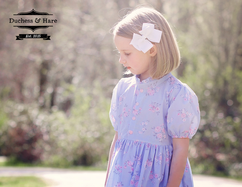 Muttonchop Blouse and Dress - Duchess & Hare