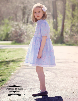 Muttonchop Top or Dress - Duchess & Hare pdf pattern