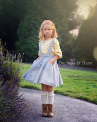 Over the Top Suspender Skirt - Duchess & Hare