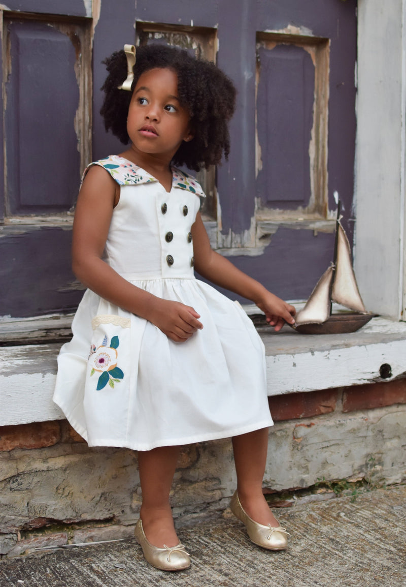 Pocketful of Sunshine Sailor Dress - Duchess & Hare