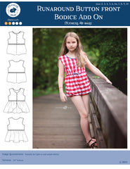 10 sizes: Runaround Bodice Add On