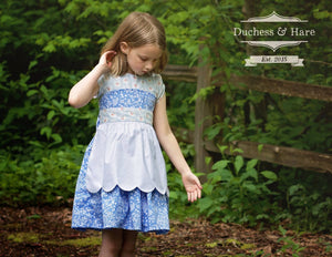 Scalloped Apron - FREE - Duchess & Hare