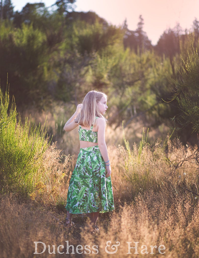Sleeveless in Seattle Crop Top, Skirt and Dress