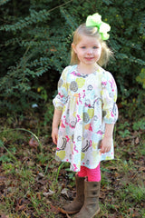 Sugar Pie Dress with Balloon Sleeves - Duchess & Hare