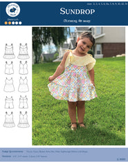 12 sizes: Sundrop Romper and Tiered Dress