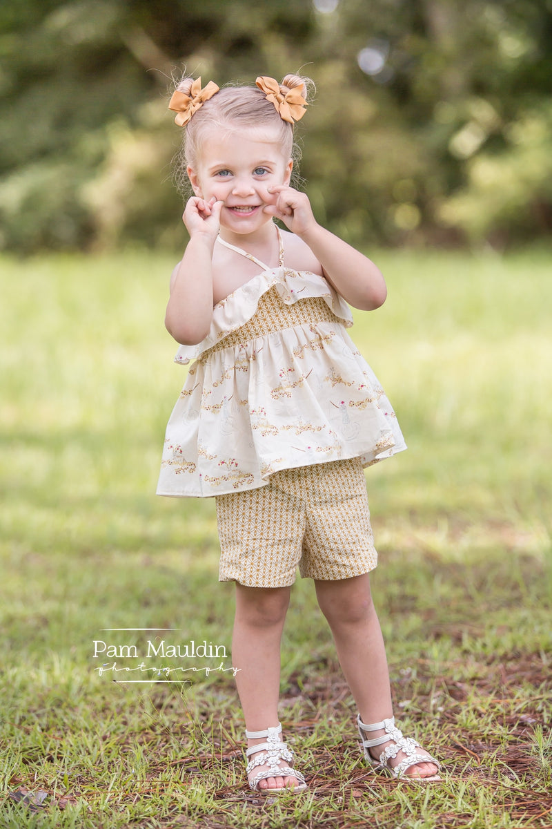 10 sizes: Sunny Side Tunic and Mini Dress
