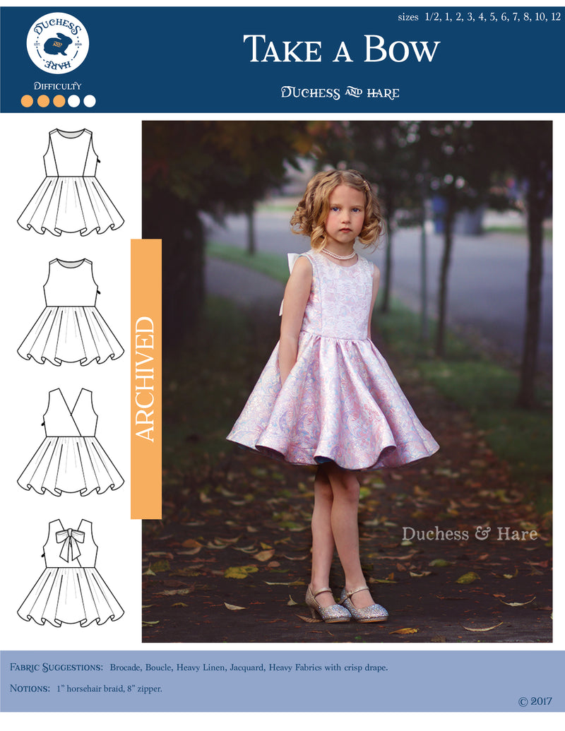 12 sizes: Take a Bow Special Occasion Dress