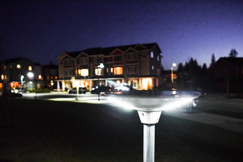 Geolite Solar Lights are a cost effective lighting solution.