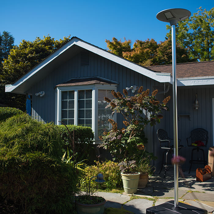 Complete Geolite Solar Light, Post, Kit, and Base Package (Best Value)