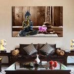Meditating Buddha - CanvasDec - Canvas Wall Art | Canvas Prints | Ready To Hang