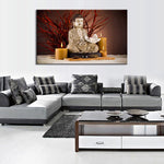 The Still Buddha - CanvasDec - Canvas Wall Art | Canvas Prints | Ready To Hang
