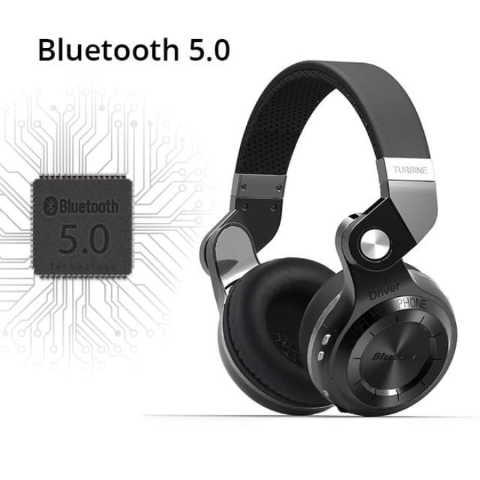 Bluetooth Headphones With Microphone - Black Cloud / Australia