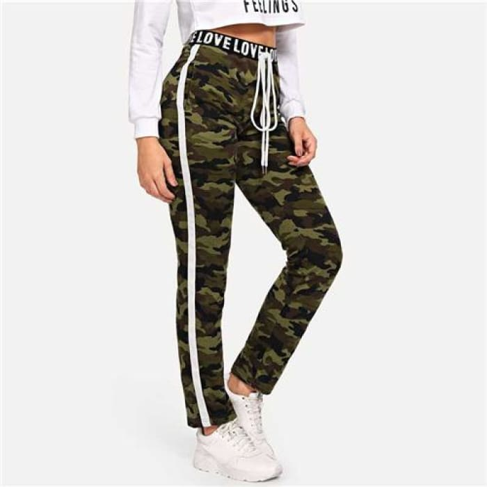 The Camouflage - Multi / S - Joggers/pants