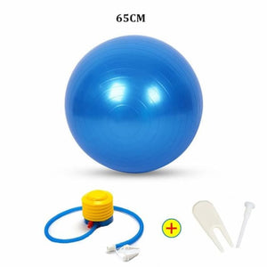 Yoga Ball - 65Cm Blue - Fitness Gym