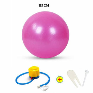 Yoga Ball - 85Cm Pink - Fitness Gym