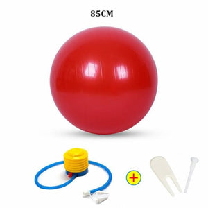 Yoga Ball - 85Cm Red - Fitness Gym