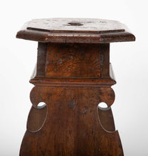 16th/17th Century Italian Baroque Walnut Stool