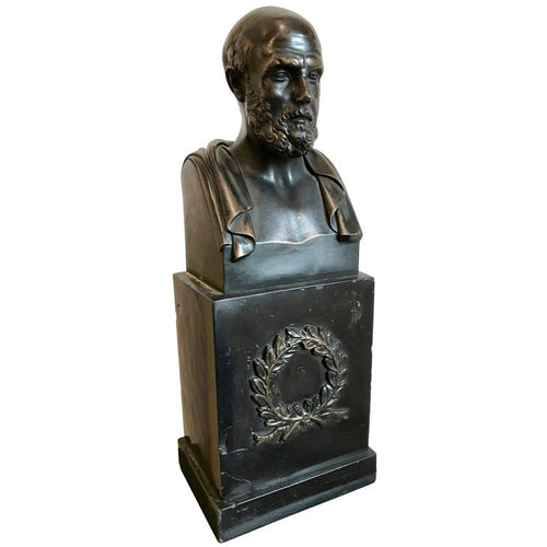 Bronze Bust of Hippocrates