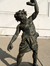 Grand Tour Bronze Figure of Silenus after the Roman Original from Pompeii