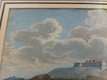GOUACHE OF ROTHENFELS CASTLE, BERG ROTHENFELS, BAVARIA 18TH C. GERMAN OR ITALIAN