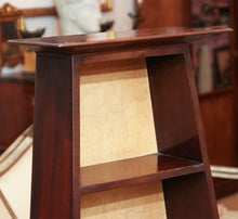 English Regency Mahogany Etagere Display Shelf