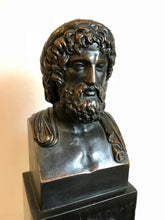 Bronze Bust of Asclepius, Greek God of Healing, Medicine and Physicians