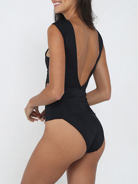 CHIARA CUTOUT BANDAGE ONE PIECE