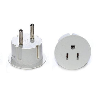 Tmvel American USA To European Schuko Germany Plug Adapters - Popularelectronics.com