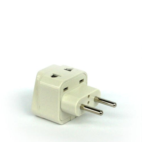 Europe, Middle East and Asia - Type C 2 in 1 - Travel Plug Adapter - Popularelectronics.com