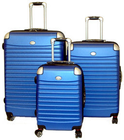 UpRight Hard Side (ABS) Spinner Luggage Light Weight - 3pc Set - Popularelectronics.com