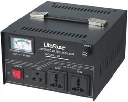 1500 Watt Voltage Regulator Transformer - Detachable Cord - Circuit Breaker - Popularelectronics.com