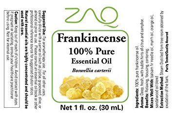 ZAQ Frankincense Pure 100% Essential Oil 1oZ - Popularelectronics.com