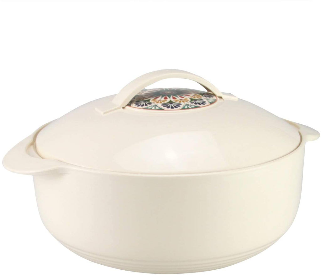 Leo Insulated Casserole Hot Pot Serving Bowl With Lid-Food Warmer