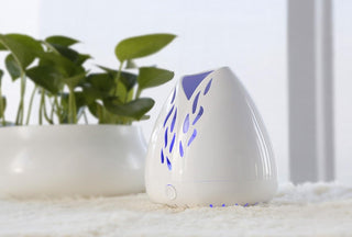 ZAQ Lucent Portable Aromatherapy Essential Oil Fan Diffuser - Battery & USB Powered - Popularelectronics.com