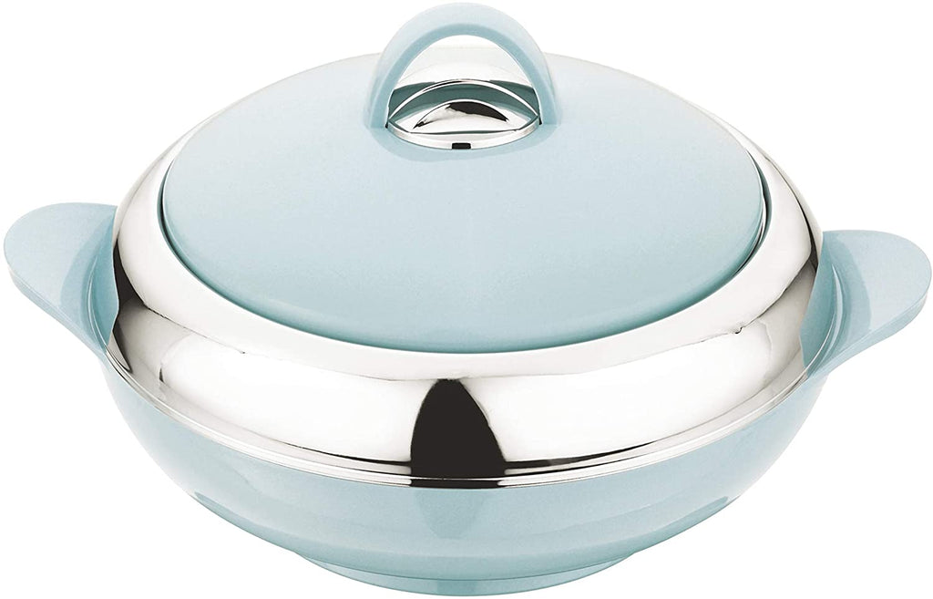 Crescent Insulated Casserole Hot Pot Serving Bowl With Lid-Food Warmer