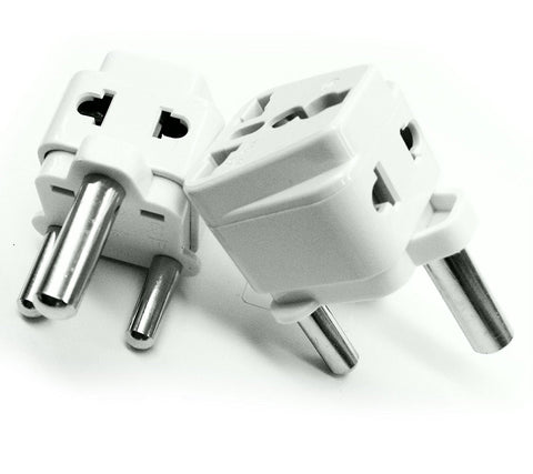 South Africa, Swaziland, Lesotho - Type M 2 in 1 - Travel Plug Adapter - Popularelectronics.com