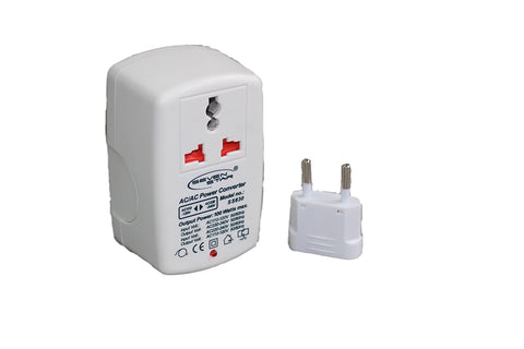 100 Watt Step Up/Down Universal Travel Voltage Converter - Popularelectronics.com