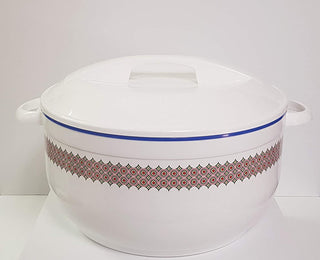 Celebrity Casserole Hot Pot Insulated Serving Bowl With Lid-Food Warmer