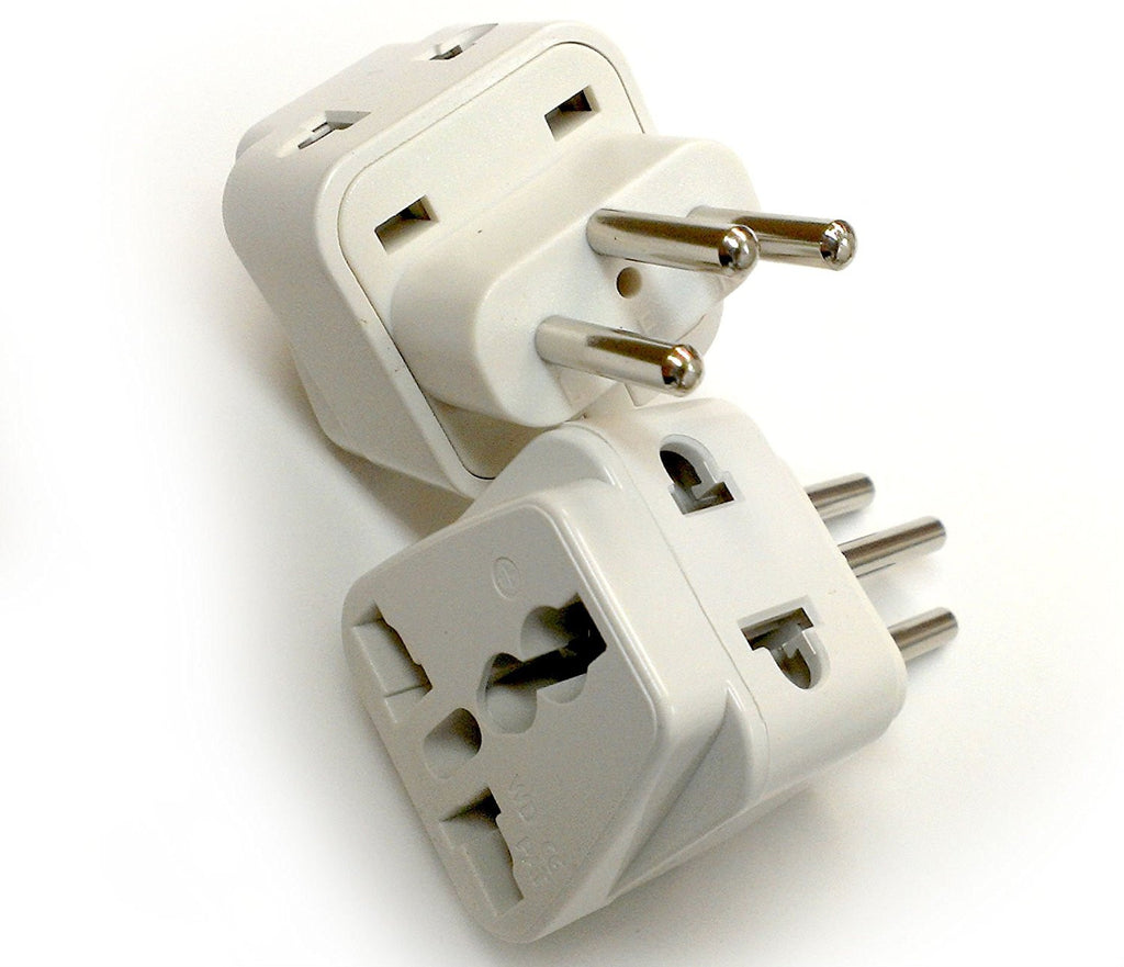 Switzerland - Type J 2 in 1 - Travel Plug Adapter - Popularelectronics.com