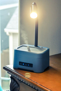 ZAQ Lumin Aromatherapy Essential Oil Diffuser Desk Lamp - Popularelectronics.com