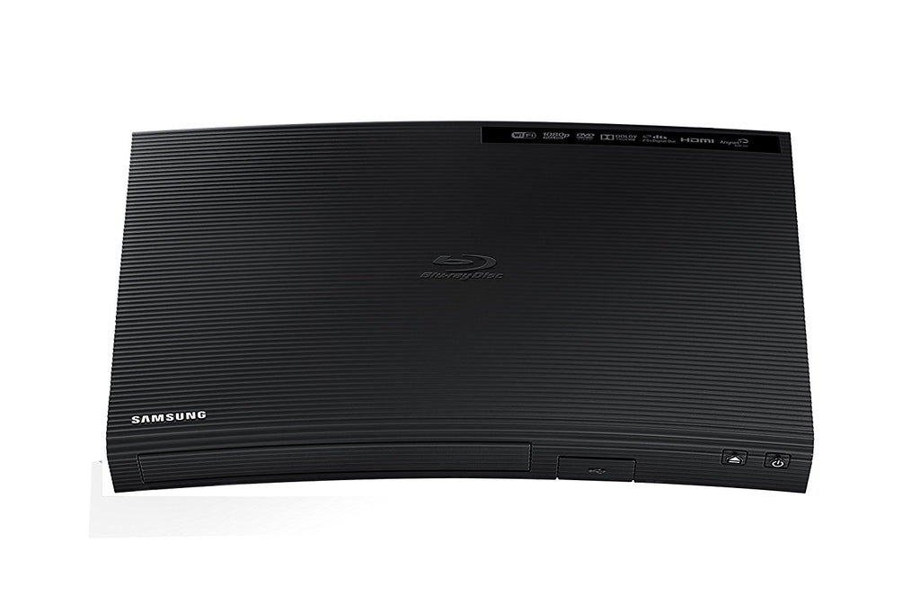 Samsung Blu-ray DVD Disc Player With Built-in Wi-Fi 1080p & Full HD Upconversion, Plays Blu-ray Discs, DVDs & CDs - Free Tmvel HDMI Cable - Popularelectronics.com