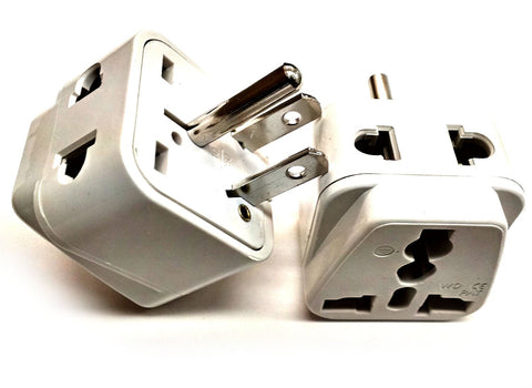 USA, Canada, Japan - Type G 2 in 1 - Travel Plug Adapter - Popularelectronics.com