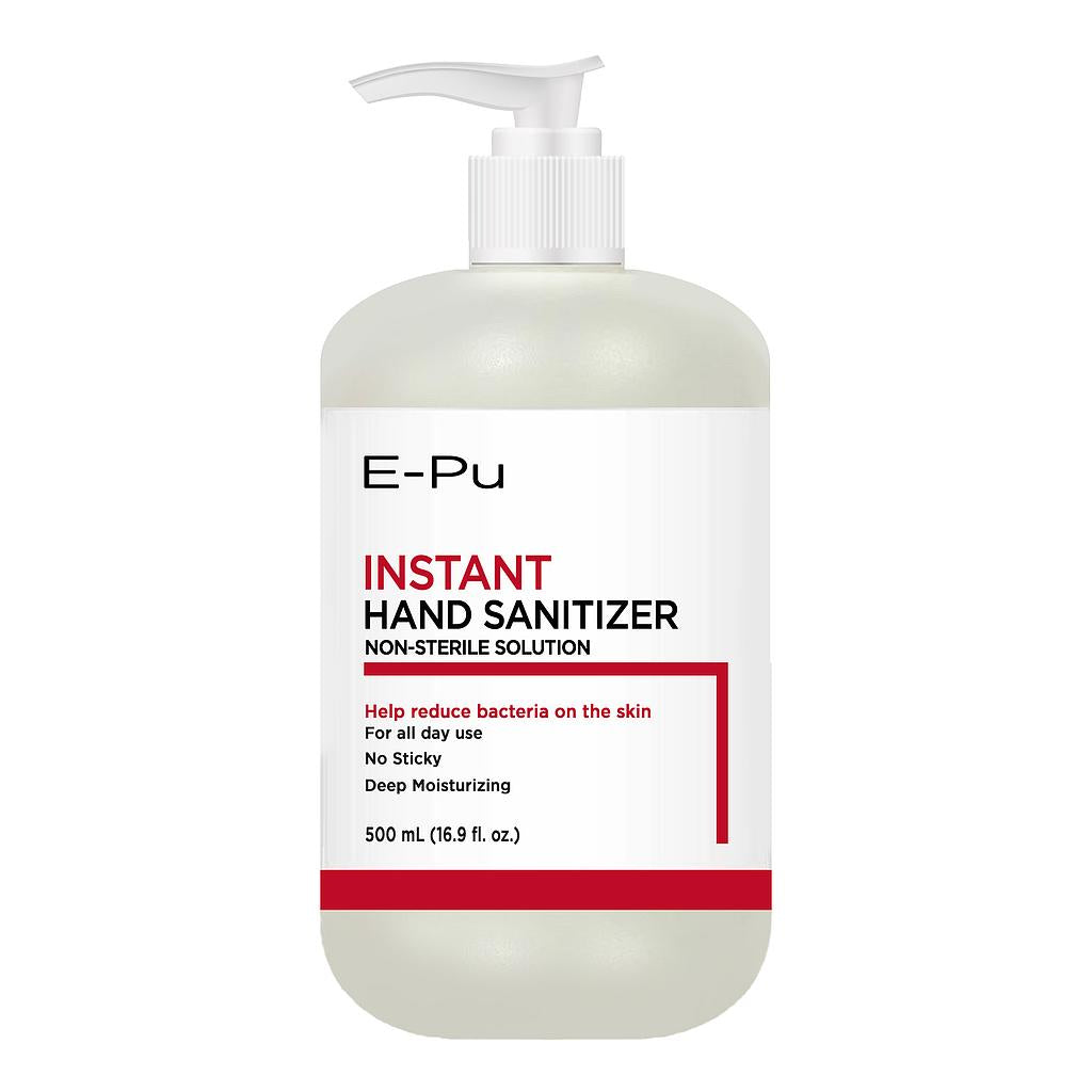 E-Pu 16.9 fl oz Gel-based Hand Sanitizer with 70% Ethyl (Single Pack)