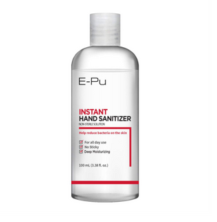 E-Pu 3.38 fl oz Gel-based Hand Sanitizer with 70% Ethyl (60 Pack)