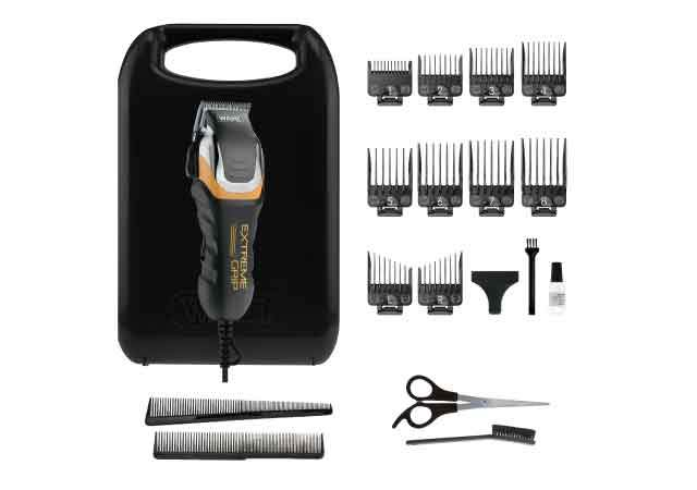 Wahl Extreme Grip Pro Hair Clipper - 19PC KIT