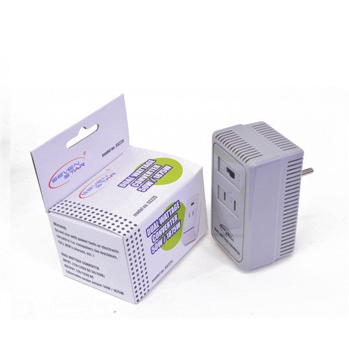 Seven Star 50-1875 Watt Light Duty Step Down Travel Voltage Converter - Popularelectronics.com